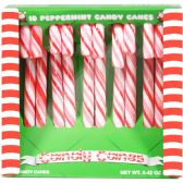48 Units of SOO SOO SWEET CANDY CANE 10 CT 4.2 OZ CLASSIC PEPPERMINT - Christmas Novelties