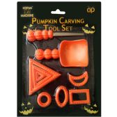 48 Units of PARTY SOLUTIONS PUMPKIN CARVING KIT - Halloween & Thanksgiving