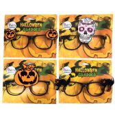 36 Units of PARTY SOLUTIONS HALLOWEEN GLASSES - Halloween & Thanksgiving