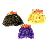 36 Units of PARTY SOLUTIONS GIRLS HALLOWEEN TUTU 3 ASSORTED - Halloween & Thanksgiving