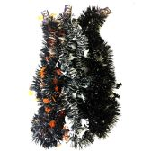 36 Units of PARTY SOLUTIONS HALLOWEEN TINSEL GARLAND - Halloween & Thanksgiving