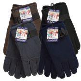 36 Units of WINTER Fleece Glove Men HD - Fleece Gloves