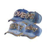 48 Units of Bling Bling Hat Assorted Size & Styles - Baseball Caps & Snap Backs