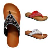 30 Units of Women's Rhinestones Slippers - Women's Flip Flops