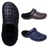 36 Units of Men Winter Clogs With Fur Lining - Men's Shoes