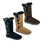 24 Units of Women's Winter Boots in Brown/tan Mix - Women's Boots
