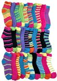 Womens Fuzzy Socks (30 Pairs) Soft Warm Winter Comfort Socks Multicolor, by excell - Store