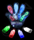 120 Units of LED Light Up Finger Lights - Assorted 4ct - Light Up Toys