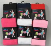 120 Units of Girls Acrylic Tights Size Small - Childrens Tights