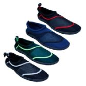 36 Units of Men's Assorted Color Water Shoes - Men's Aqua Socks
