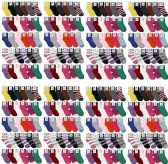 120 Units of WSD Womens Fuzzy Socks, Winter Soft Fluffy Solid Colors (Assorted Solid Colorful) - Womens Fuzzy Socks