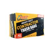6 Units of 20 Count Contractor Bag - Garbage & Storage Bags