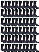 240 Pairs Case of Womens Sports Athletic Crew Socks, Wholesale Bulk Pack, by WSD - Store