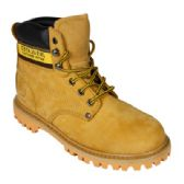 12 Units of Men's Genuine Leather Work Boots - Men's Work Boots