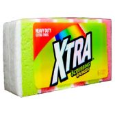 48 Units of 6 Pack Xtra Scrubbing Sponges - Scouring Pads & Sponges