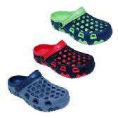 36 Units of Men's Assorted Color Clogs - Men's Slippers