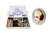 12 Units of Animal Print Earmuffs - Ear Warmers