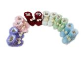 150 Units of Girls Slipper Boots with Pom Pom - Girls Slippers