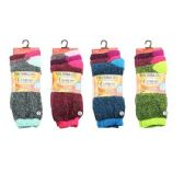 120 Units of Womens Heat Retainer Thermal Socks - Womens Thermal Socks