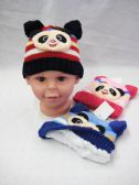 36 Units of TODDLER BEAR BEANIES - Junior / Kids Winter Hats