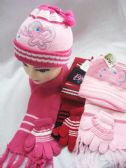 36 Units of KIDS WINTER HAT AND SCARF SET - Junior / Kids Winter Hats