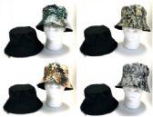 48 Units of Camo Reversible Fishing Hat - Bucket Hats