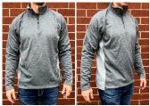 24 Units of Champion Colorblock Performance Quarter-Zip Sweatshirt - Mens Sweat Shirt