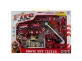 6 Units of Fire Rescue Team Play Set - Toy Sets