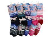 72 Units of Fuzzy Design Cozy Socks - Store