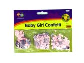 72 Units of Baby Girl Confetti - Streamers & Confetti