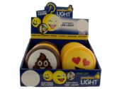 72 Units of Emoticon LED Light with Hook Countertop Display - Hooks