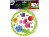 """72 Units of 7"""" Floral Party Paper Plates - Party Paper Goods"""