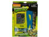 36 Units of Ninja Turtles Accessories Kit - Licensed School Supplies