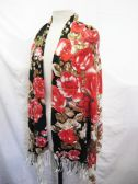 24 Units of Womens Fashion Scarf Printed Floral - Womens Fashion Scarves
