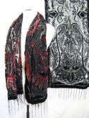 24 Units of Womens Fashion Printed Scarf With Fringes - Womens Fashion Scarves