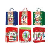 96 Units of Gift Bag Xmas Size Large - Gift Bags Christmas