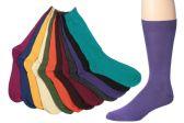 12 Units of Mens Bright Color Dress Socks Size 10-13 - Mens Dress Sock