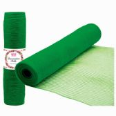 96 Units of Tulle Roll Holiday In Green - Christmas Decorations