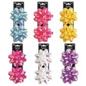 96 Units of Two Pack Five Inch Gift Bow Assorted Color - Bows & Ribbons