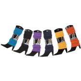 Womens Warm Winter Leg Warmers, Soft Colorful and Trendy (6 PACK ASSORTED B) - Womens Leg Warmers