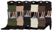 Womens Warm Winter Leg Warmers, Soft Colorful and Trendy (6 PACK ASSORTED A) - Store