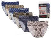 144 Units of Mens Cotton Brief with Print - Mens Underwear