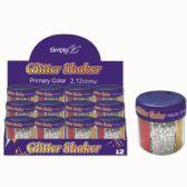 96 Units of Six Color Glitter Shaker - Craft Glue & Glitter
