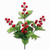 144 Units of Xmas Flowers - Christmas Decorations