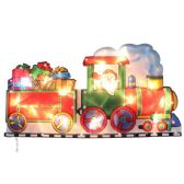 24 Units of Santa Train Sculpture - Christmas Decorations