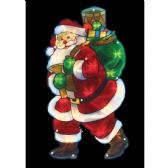 24 Units of Santa Sculpture - Christmas Decorations