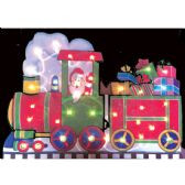 18 Units of Santa Train Sculpture - Christmas Decorations