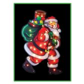 18 Units of Santa Sculpture - Christmas Decorations