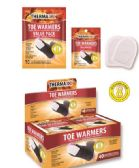 40 Units of Air Activated Toe Warmers with Adhesive - Footwear Accessories