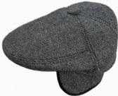 36 Units of Plaid Men Cap With Button - Winter Sets Scarves , Hats & Gloves